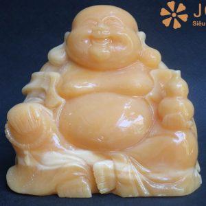 Phật Di Lặc bằng đá ngọc hoàng long